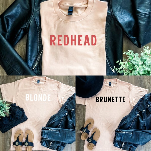 Hair Color Graphic Tee