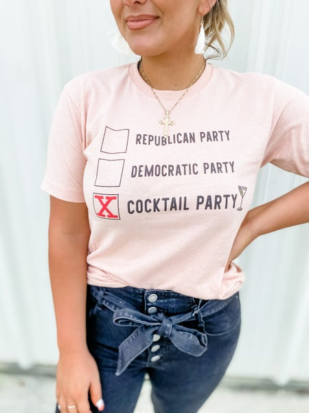 Cocktail Party Graphic Tee