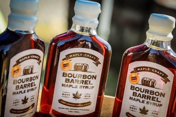 Bourbon Barrel Aged Maple Craft Syrup