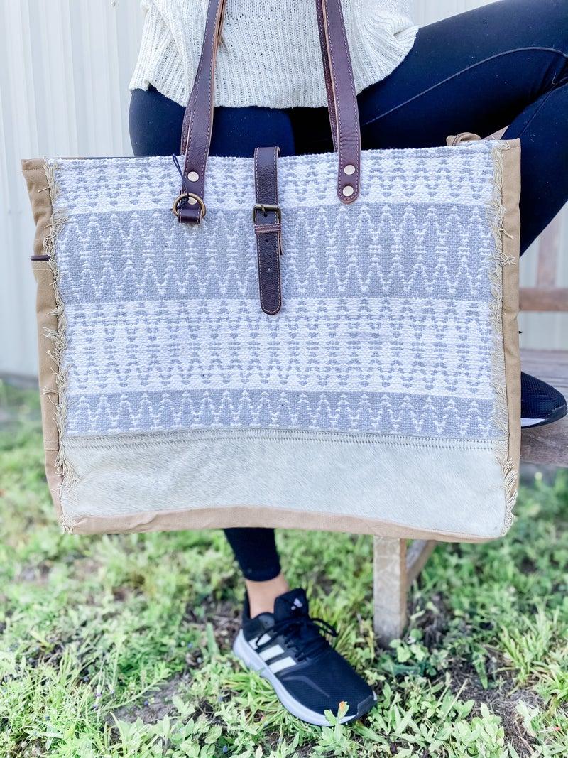 Weave N Nap Weekender Bag