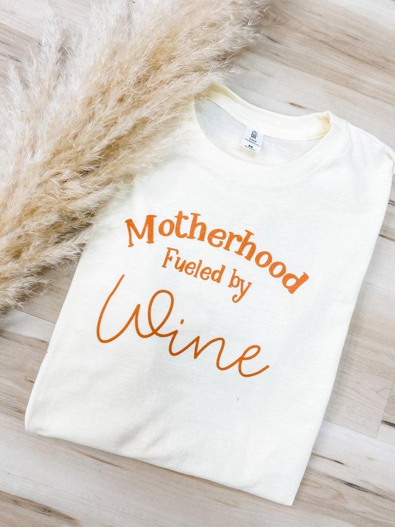 Motherhood Wine Graphic Tee