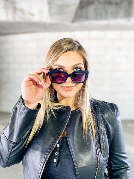 FRYERS Black Tribeca Sunglasses