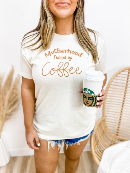 Motherhood Coffee Graphic Tee