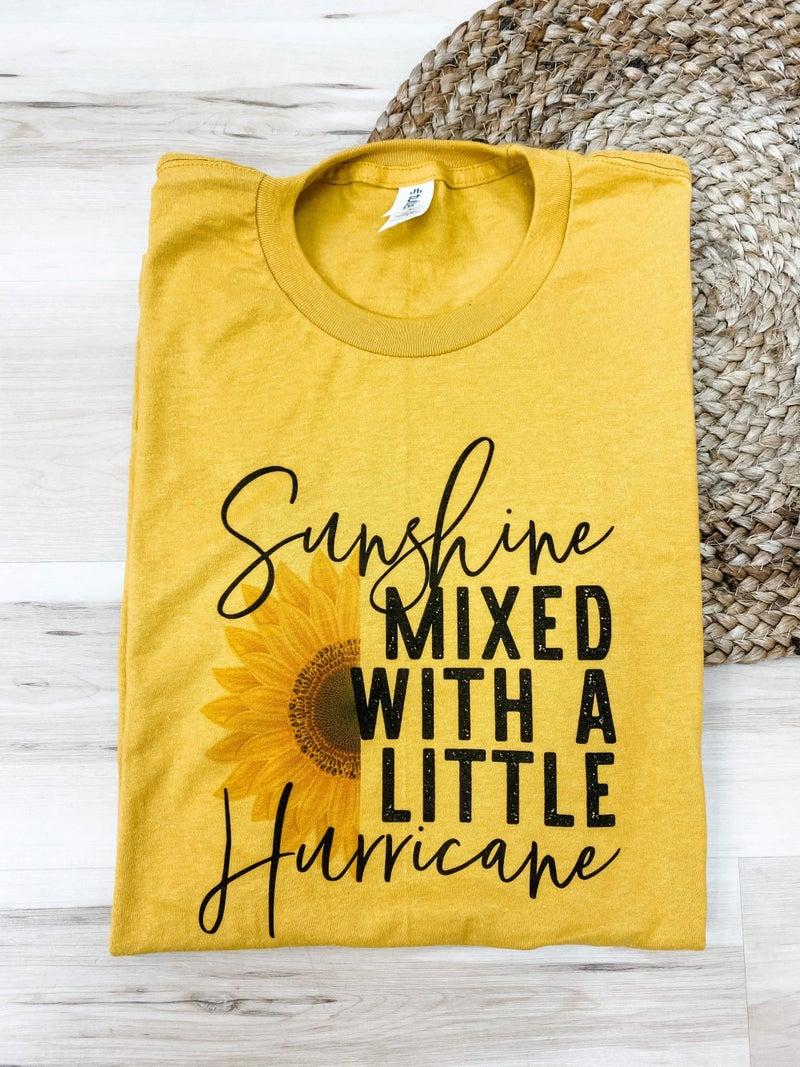 Sunshine Hurricane Graphic Tee