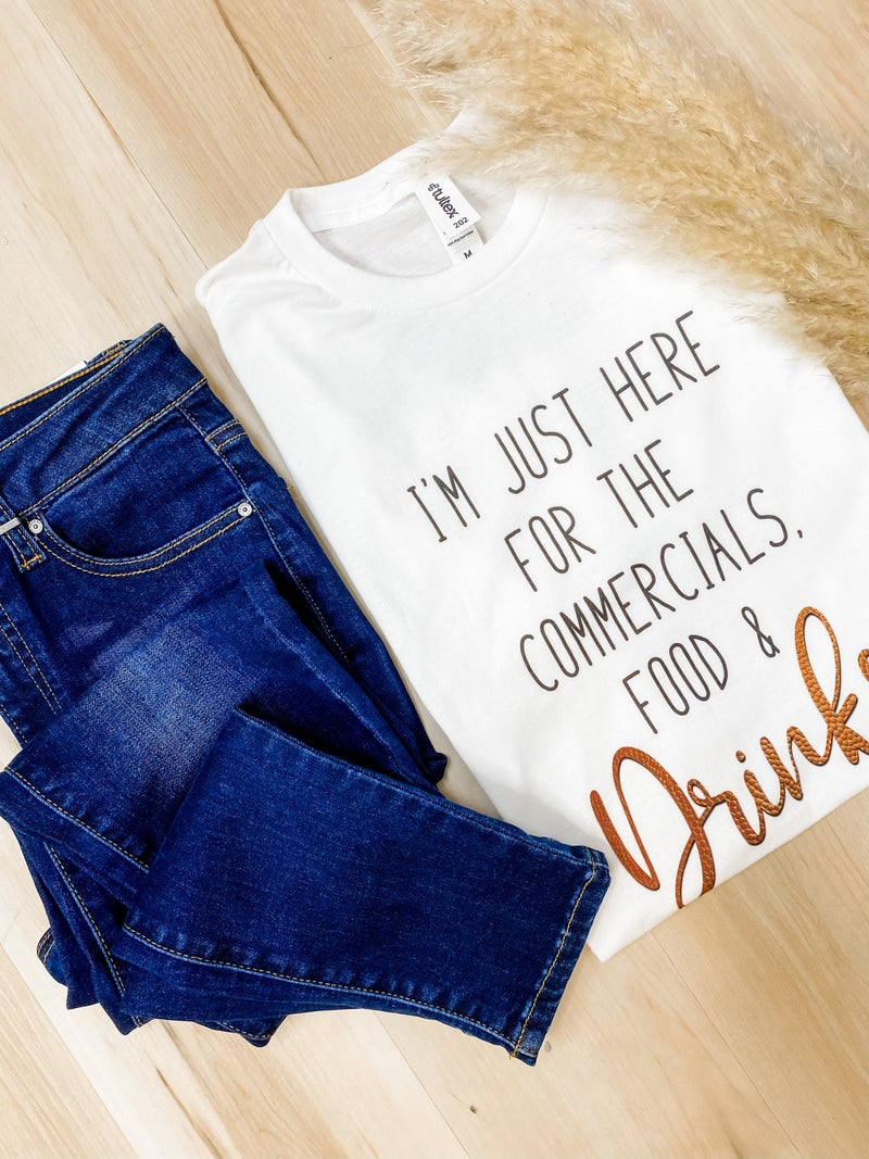 Commercials, Food & Drinks Graphic Tee