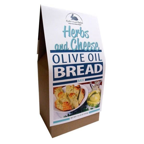 Herbs And Cheese Olive Oil Bread Mix