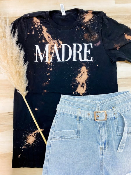 Madre Bleached Graphic Tee