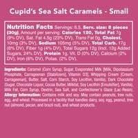 Cupid's Sea Salt Caramels