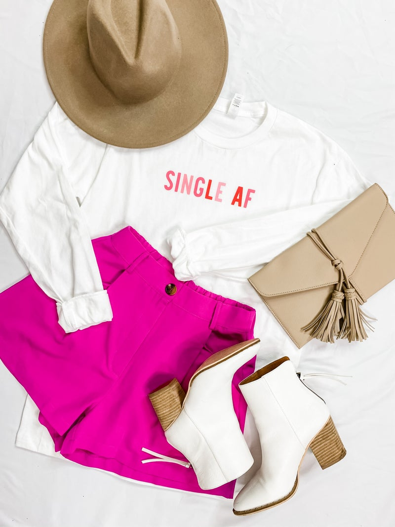 Single AF Long Sleeve Graphic Tee