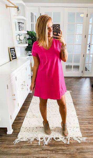 Could Be Fun Pocket Dress