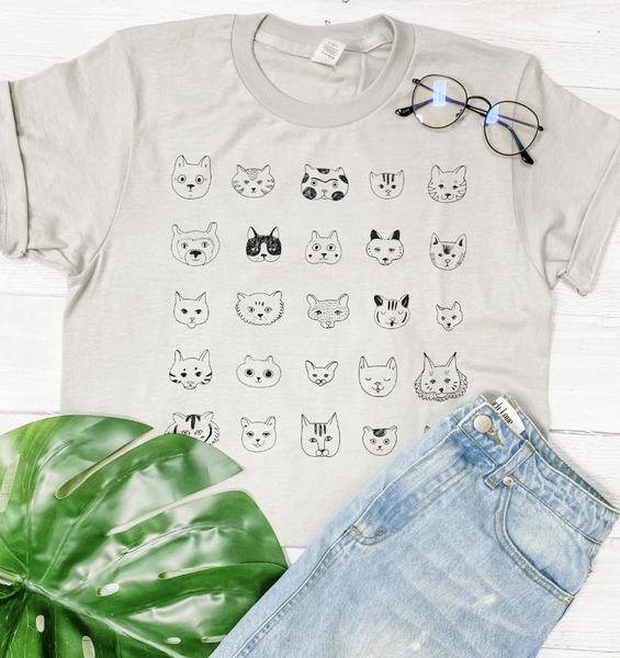 Cat Lover Graphic Tee