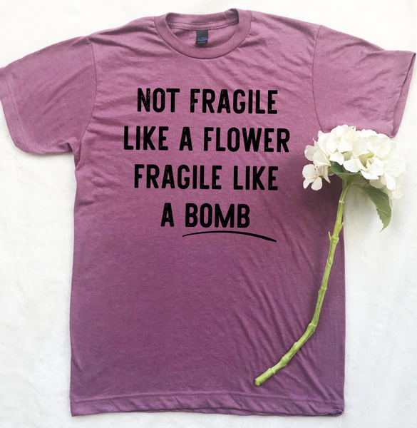 FRAGILE LIKE A BOMB GRAPHIC TEE