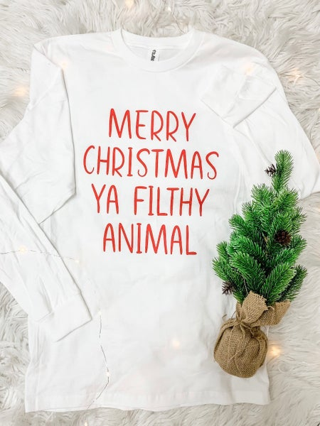 Filthy Animal Long Sleeve Graphic Tee