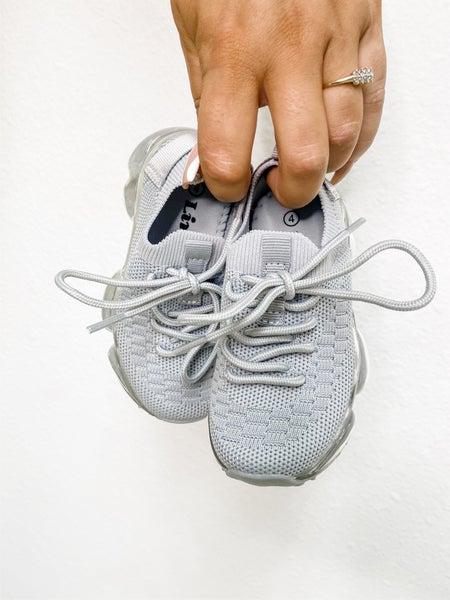 Toddler Silver Sneaker