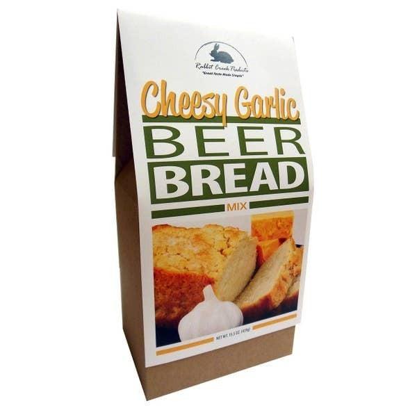 Cheesy Garlic Beer Bread