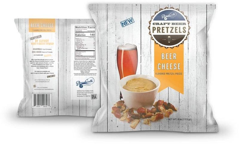 Beer Cheese Flavored Pretzels