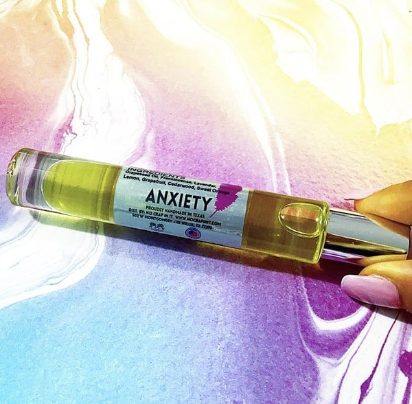 Anxiety Essential Oil Roll Blends
