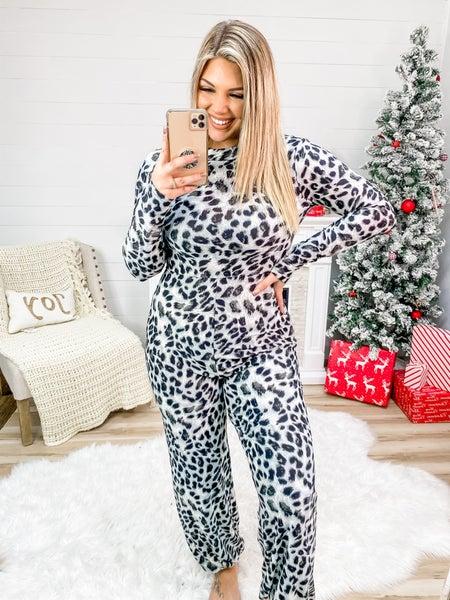 Make It Sassy Black Leopard Zip Up Jumpsuit