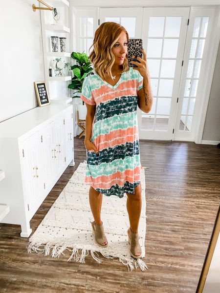 Happiest With You Tie-Dye Dress