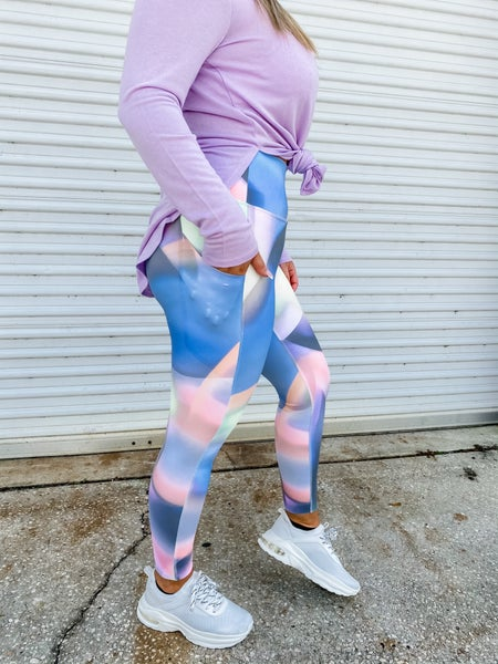 Scope You Out Ombre Print Leggings