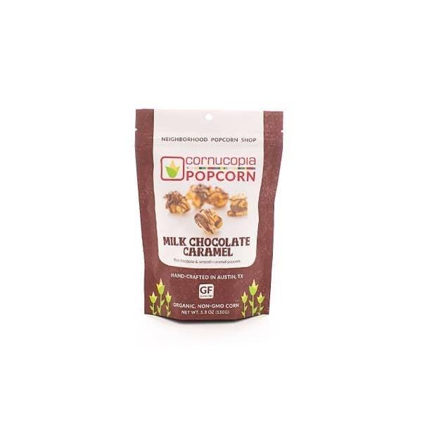 Milk Chocolate Caramel Popcorn