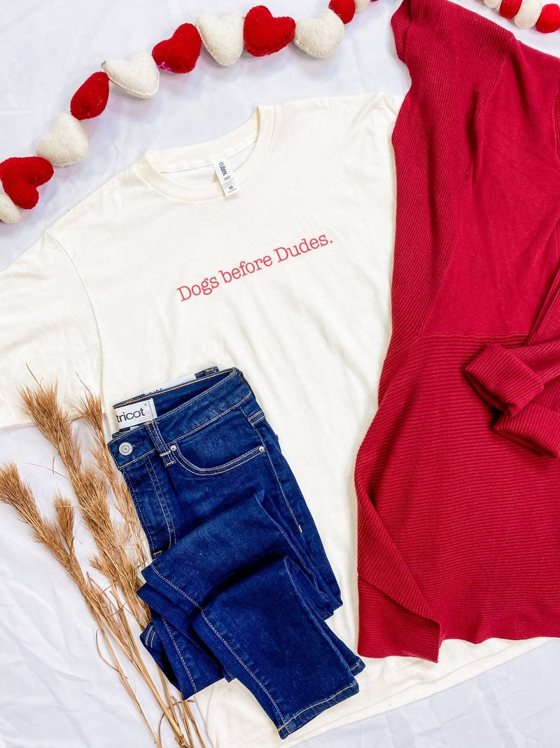 Dogs Before Dudes Graphic Tee