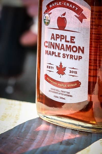 Organic Apple Cinnamon Maple Craft Syrup