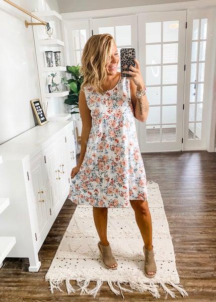 Breath Of Fresh Air Floral Dress