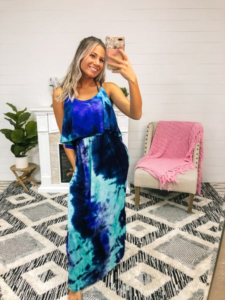 In The Shallows Maxi Dress