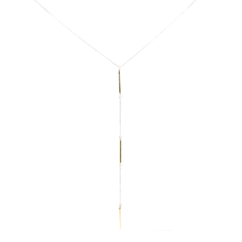 Love N Lost 3 Bar Necklace