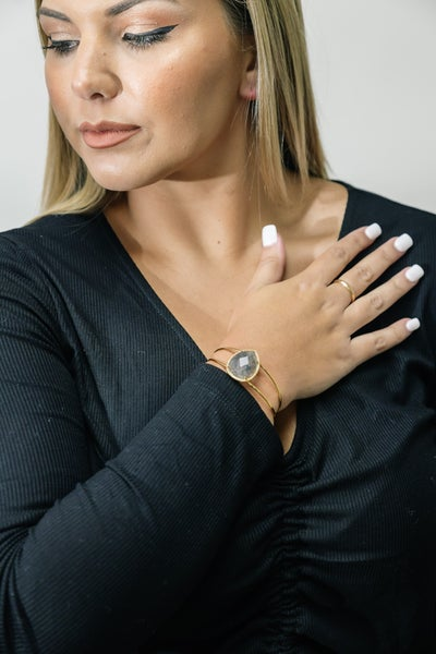Grey Gloria Bracelet
