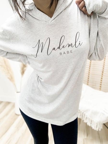Mademli Babe Lightweight Graphic Hoodie
