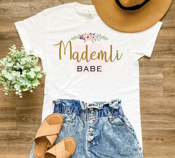 Original Mademli Babe Graphic Tee