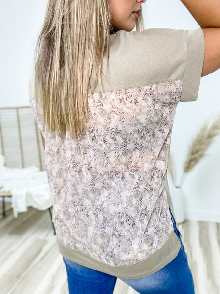 There She Grows Again Floral Top