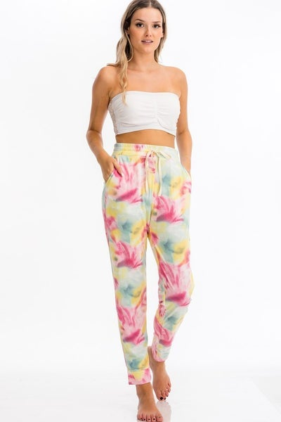 Nights With You Tie Dye Joggers
