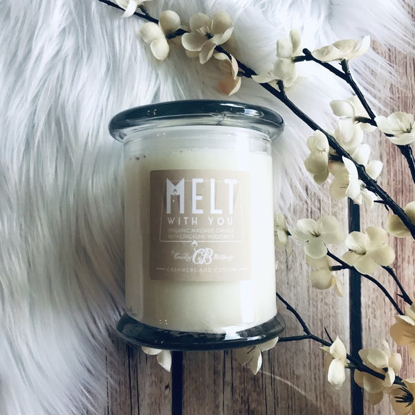 MELT WITH YOU - CASHMERE AND COTTON CANDLE