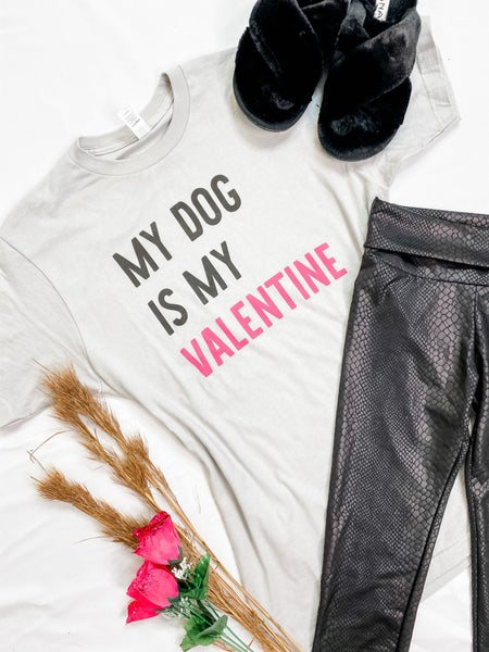 Dog Valentine Graphic Tee