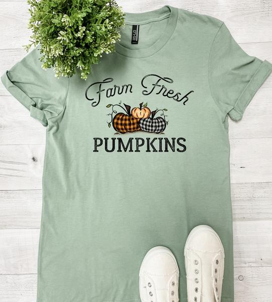 Farm Fresh Pumpkins Graphic Tee