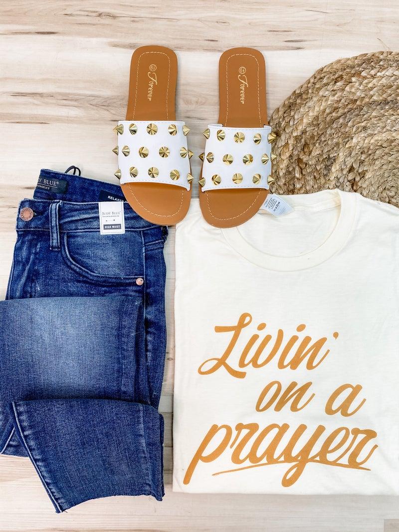 Livin' On A Prayer Graphic Tee