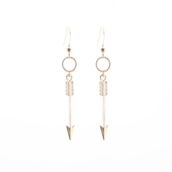 Arrow Gold Earrings
