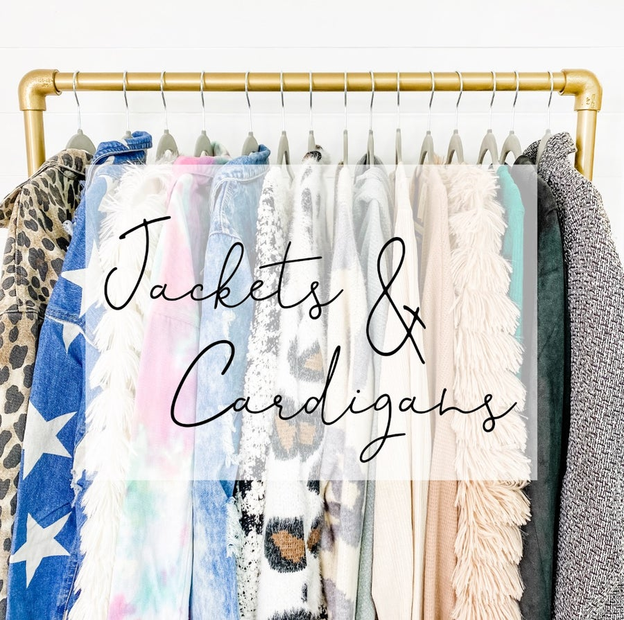 JACKETS AND CARDIGANS
