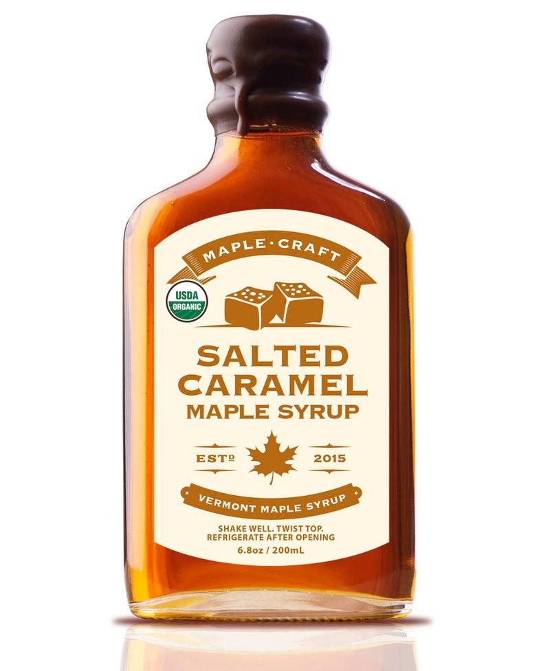 Organic Salted Caramel Maple Craft Syrup