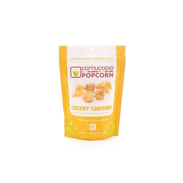 Cheesy Caramel Popcorn