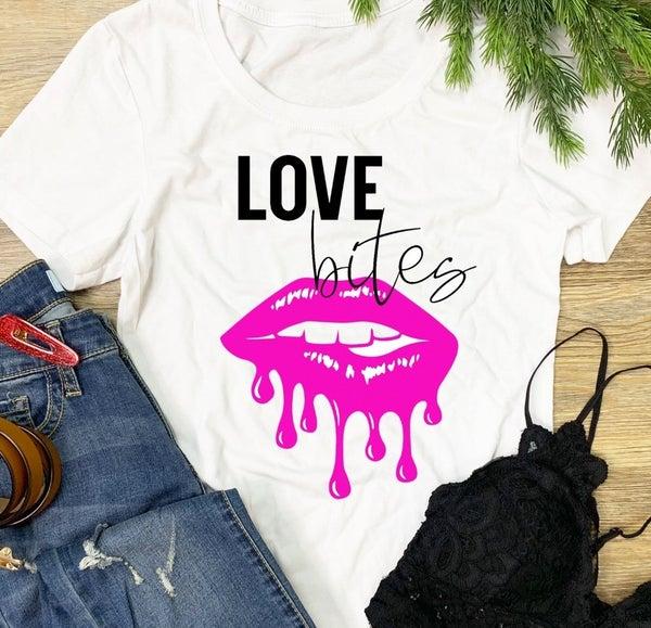 LOVE BITES GRAPHIC TEE