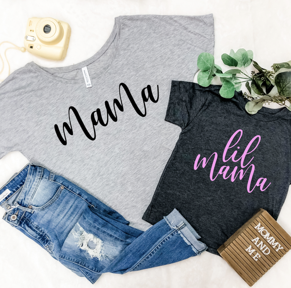 LIL MAMA MOMMY & ME GRAPHIC TEES