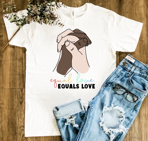 Equal Love Graphic Tee