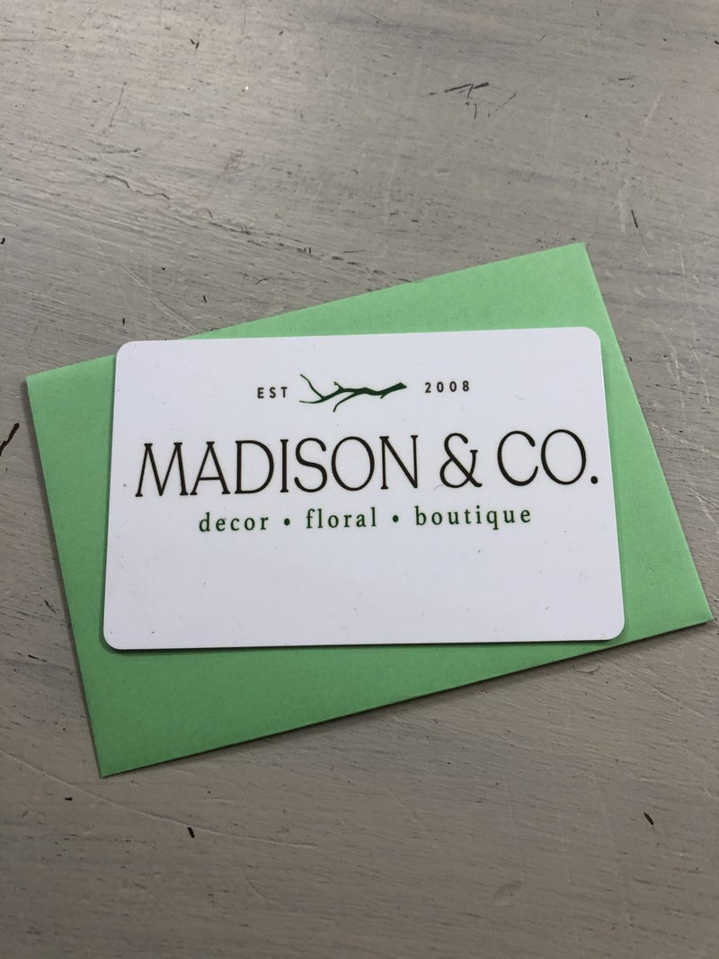 Madison & Co. Gift Card