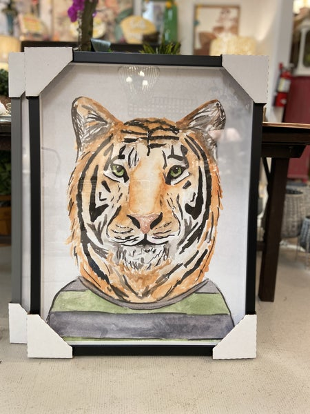 Tiger in a Tshirt 18X24