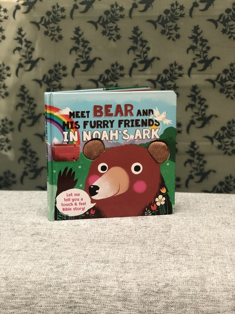 Meet Bear in Noah's Ark Touch and Feel book