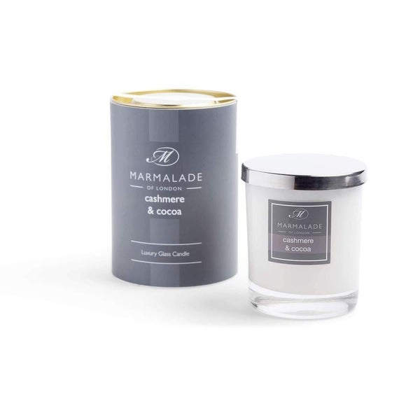 Cashmere & Cocoa Luxury Glass Candle 8oz